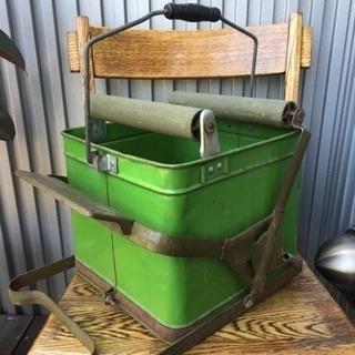 Greenモップ絞り機 アンティーク