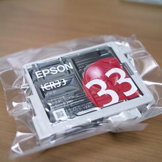 ICR33 純正インクカートリッジ赤(未開封品)