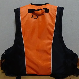ライフジャケット オレンジ - 伊勢崎市