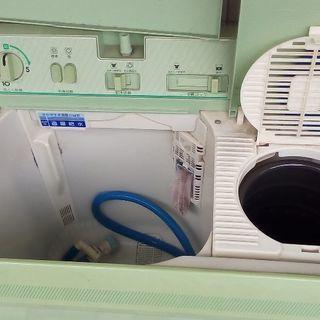 もらって下さい 洗濯機 二層式