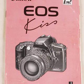 6901 Canon キャノン EOS Kiss 取扱説明書 取説...