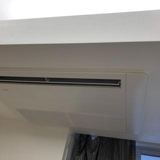 天井埋め込みエアコン洗浄