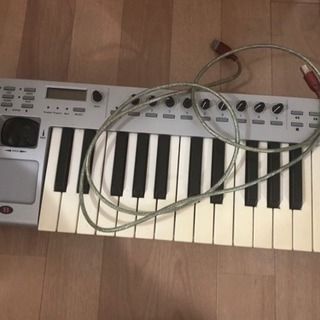 【譲ります】MIDI鍵盤