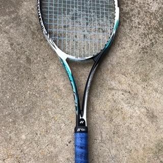 *完売*ソフトテニス ラケット 軟式 美品 中古 ヨネックスNE...