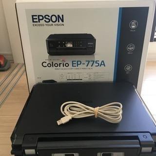 取引中 ジャンク エプソンインクジェットプリンターEP-775A