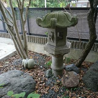 石灯籠(難あり)