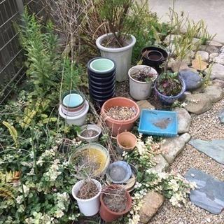 園芸用品 植木鉢 カゴなどなど