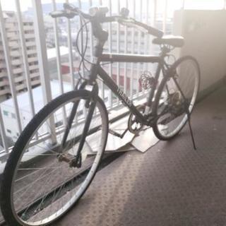 ほとんど乗らずのクロスバイク