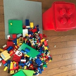 LEGO 赤いバケツと板 USED