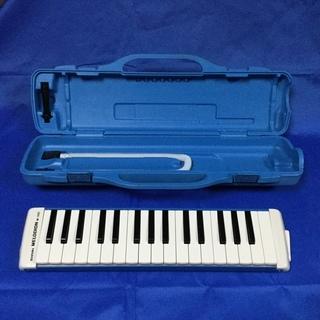 鍵盤ハーモニカ スズキ M-32C アルトメロディオン パステルブ...