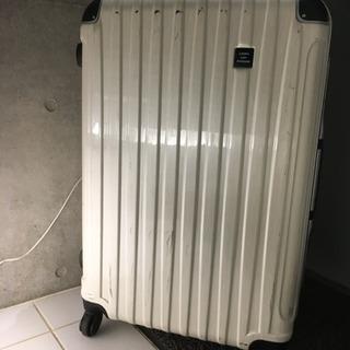 中古スーツケース白