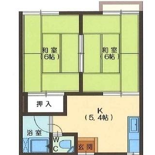 敷金0礼金0家賃1ヵ月0☆フローリングへの変更相談可
