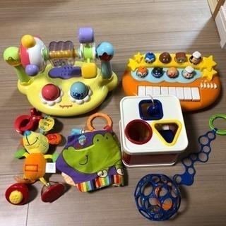 赤ちゃんのおもちゃ差し上げます。