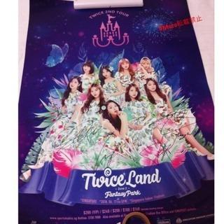 Twice サイン入り ライブポスター