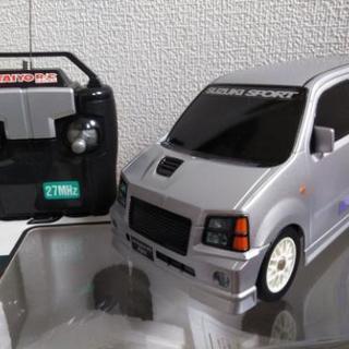 ラジコン wagonR  RR (ボディ色 : シルバー)
