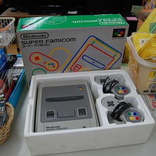 任天堂 スーパーファミコン SHVC-001 箱付き コン…