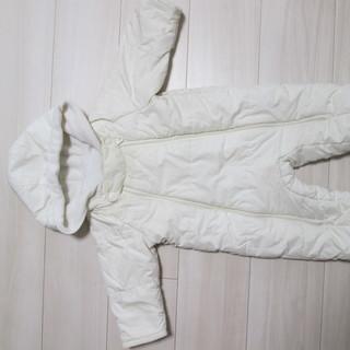 無料 ベビー服 ユニクロジャンプスーツ 防寒着 サイズ70