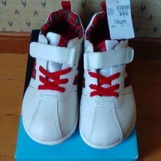 値下げ❢ 子供 靴 ホーキンス スニーカー 19㎝ 新品未使用品