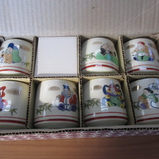 七福神 湯呑茶碗