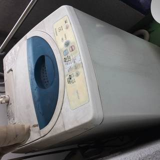 壊れた洗濯機を処分したい