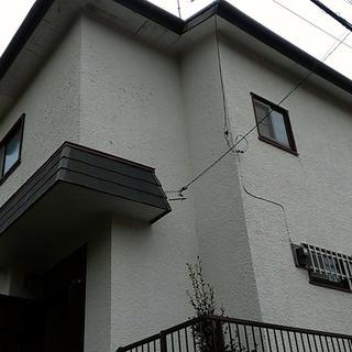 軒天の張替え 塗装、戸袋の塗装