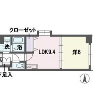 ☆博多駅徒歩8分☆1LDK☆敷金・...
