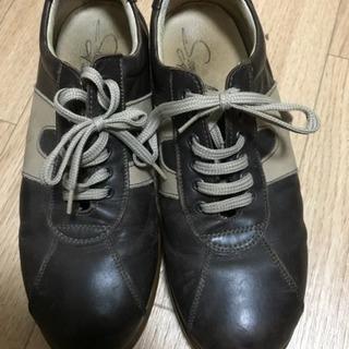イタリア製 本革 オシャレ靴 41 メンズ