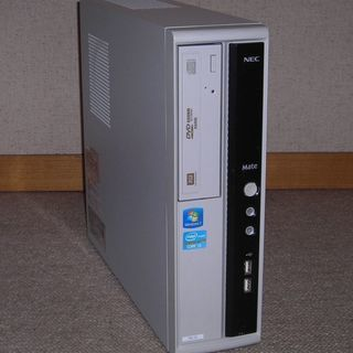 【終了】NECデスクトップ MATE(Ci3-2120/4G/3...