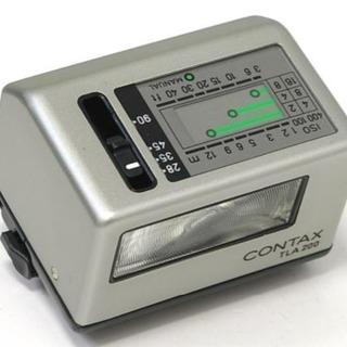 CONTAX TLA200 フラッシュ オマケ電池