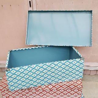 レトロスチール箱