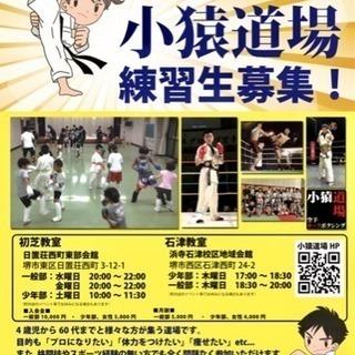 空手・キックボクシング 小猿道場 - 堺市