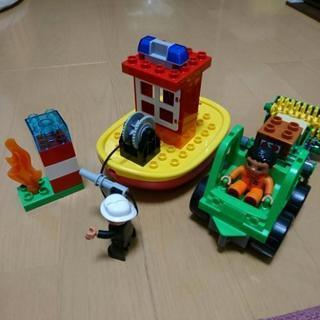 レゴ デュプロ 清掃車&消防ボート