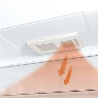 【新品 浴室乾燥機 暖房 標準取付工事込み】24時間換気機能付 ...