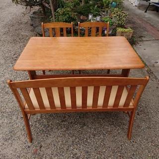 キッチンテーブル 椅子付き