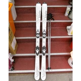 札幌【カービングスキー3点セット ケスレー】長さ150cm ホワ...