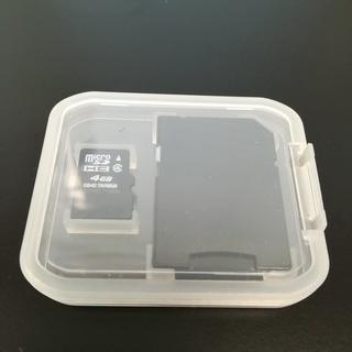 microSD 4GB CLASS④ 新品・未使用・動作確…