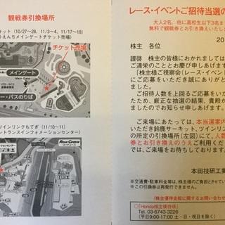 【値下げしました】鈴鹿サーキット・ツインリンクもてぎ レース観戦券...