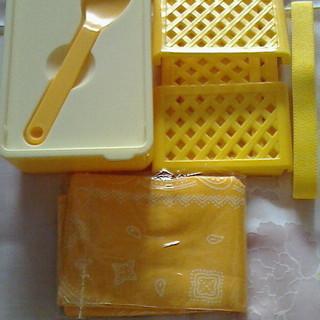 【新品・未使用】サンドウィッチ&サラダ・デザート用お弁当箱