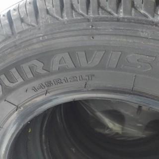 ブリヂストン DURAVIS R670 145R12LT
