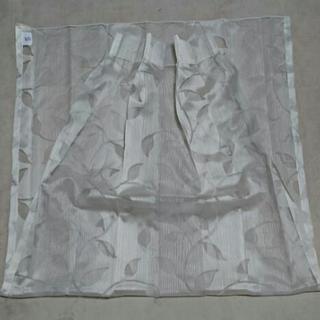 レースカーテンの端切れ、縦200横100cm
