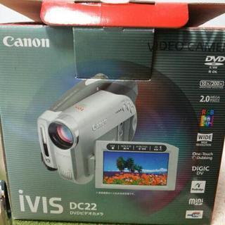 DVDビデオカメラ