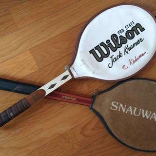 テニスラケット・装飾用(不用品の処分)
