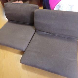座卓用座椅子 お座布さん 無料でお譲りします。