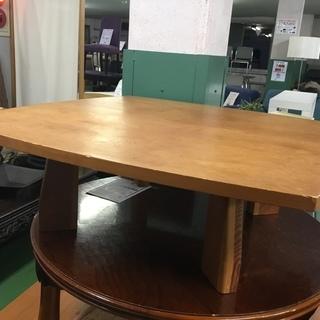 現状品!センターテーブル 木製 1枚板 テーブル ウッド 机 大型