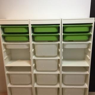 IKEA イケア トロファスト ホワイト セット