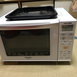 値下最終げ。新品同様。パナソニックオーブン機能付き電子レンジ