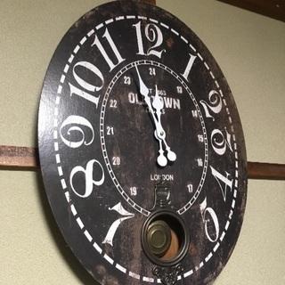 壁掛け時計 時計 レトロ モダン