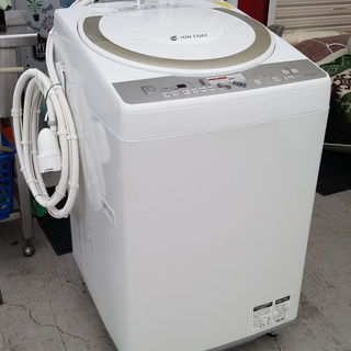《姫路》シャープ全自動洗濯乾燥機 (洗濯7.0kg/乾燥3.5kg...