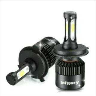 三面LEDヘッドライトH4ハイロウ切り替えー
