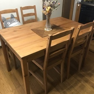 IKEAダイニングテーブルセット